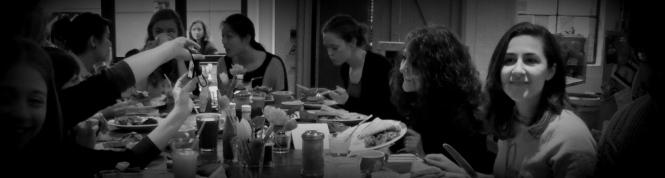 Black and white breakfast club